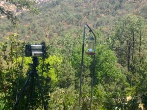 IR camera setup at El Coronado ranch